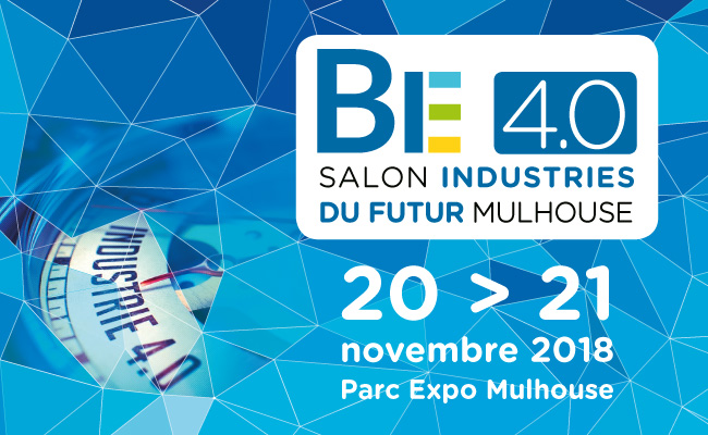 The WiW will be at BE 4.0 exhibition, Mulhouse, 21-22 November '18